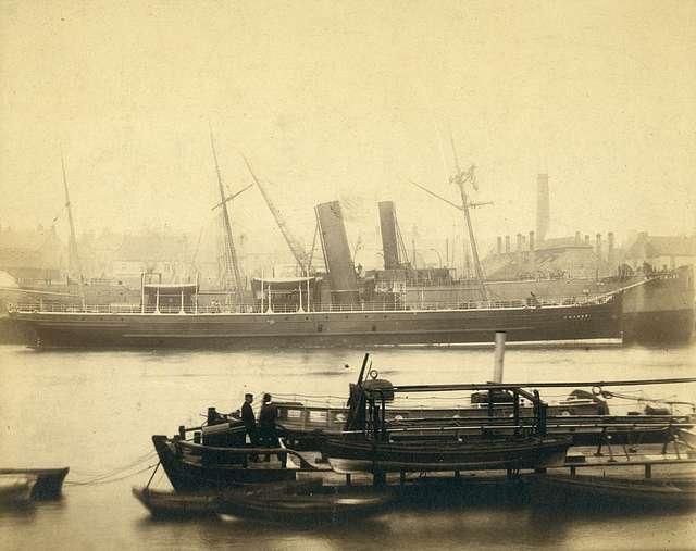 Ships on the River Wear, Sunderland