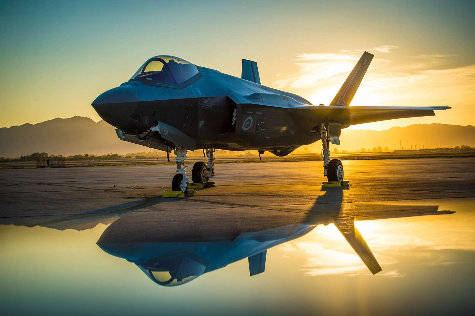 Australian Lockheed Martin F-35 Lightning II  -  Luke Air Force Base, AZ, UNITED STATES 06.27.2018
