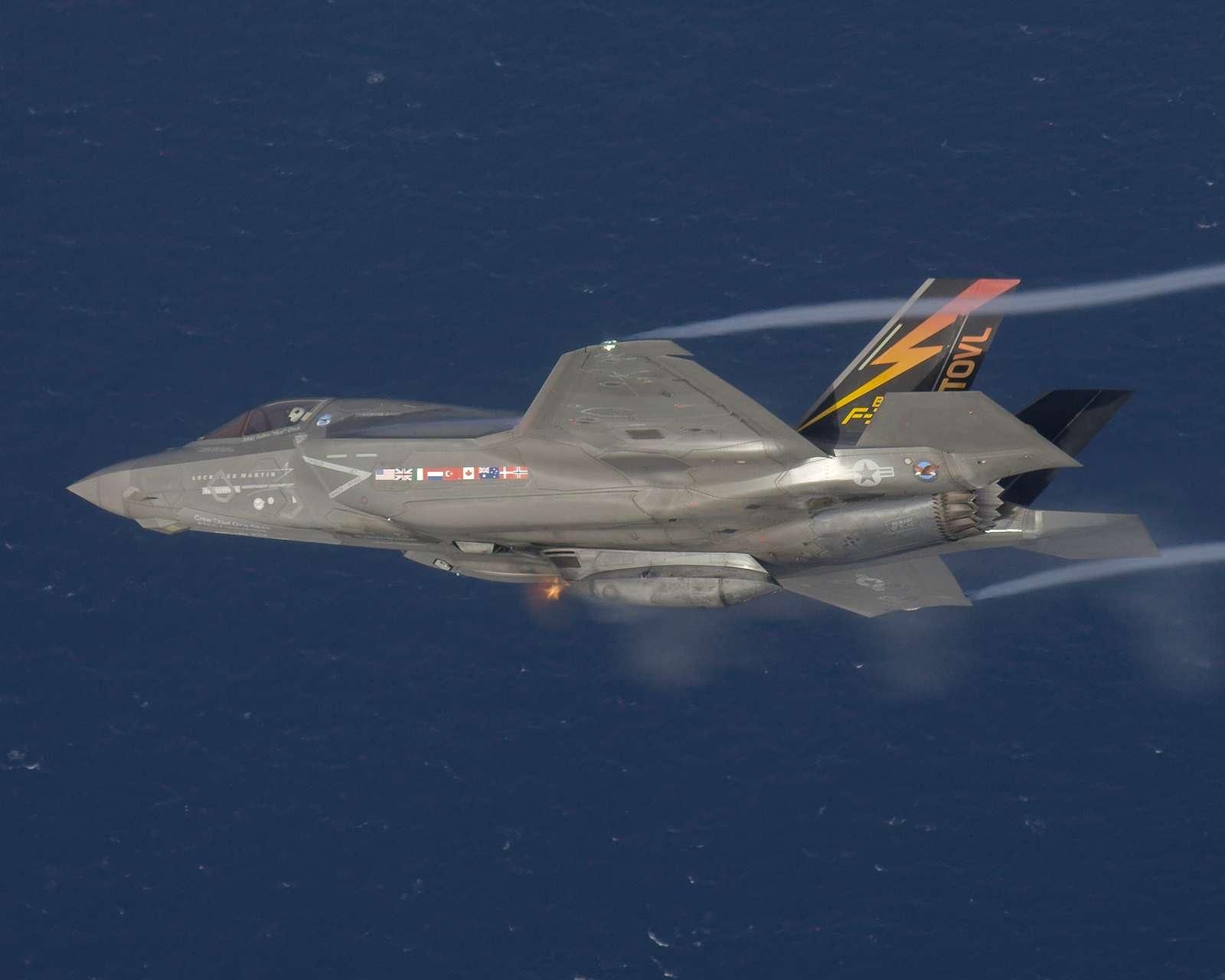 BF-1 FLT 658. Gun Pod Firing.