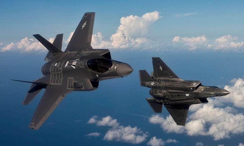 "Lockheed Martin F-35 ""Lightning II's"" from Turkey"