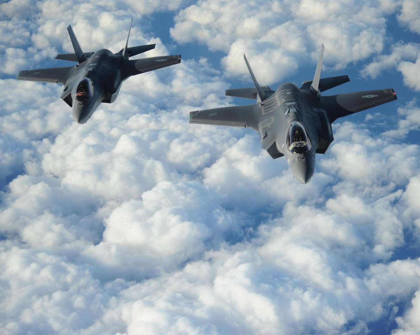 "Two Israeli F-35 ""Adirs"""