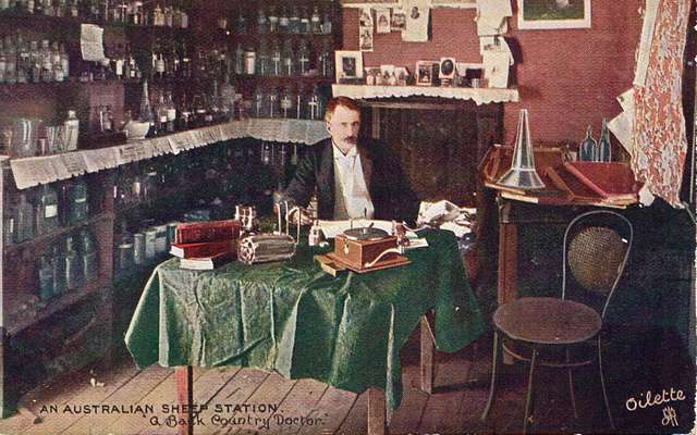An Australian Sheep Station - Back Country Doctor - very early 1900s