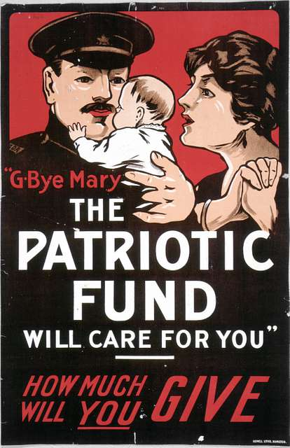 G-bye Mary, the Patriotic Fund will care for you