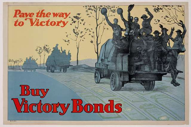 Pave the way to victory - Buy Victory Bonds