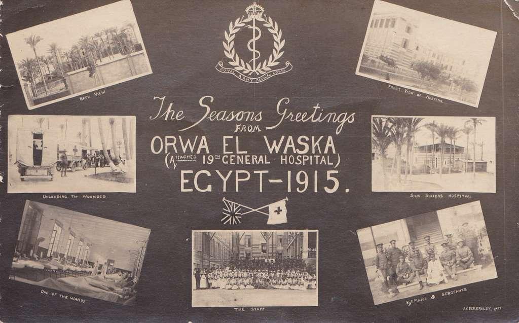 Seasons Greetings from Orwa El Waska, Egypt - 1915