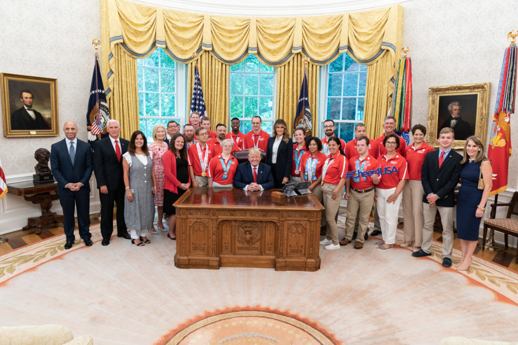 President Trump Meets with Members of Team USA for the 2019 Special Olympics World Games