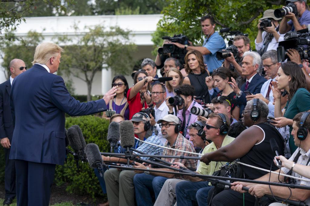 President Trump Departs for Ohio