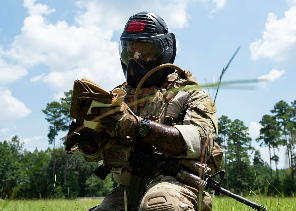 Tech. Sgt. Justin Amburgey, 824th Base Defense Squadron