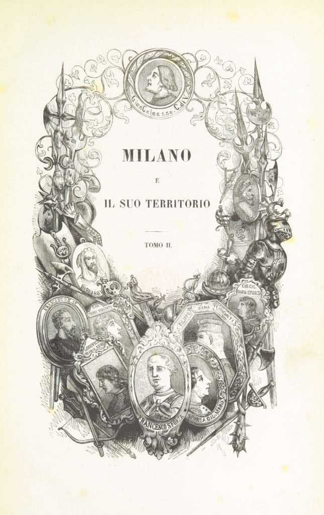 Image taken from page 7 of 'Milano e il suo territorio. [By various authors. Edited by Cesare Cantu. With plates and maps.]'