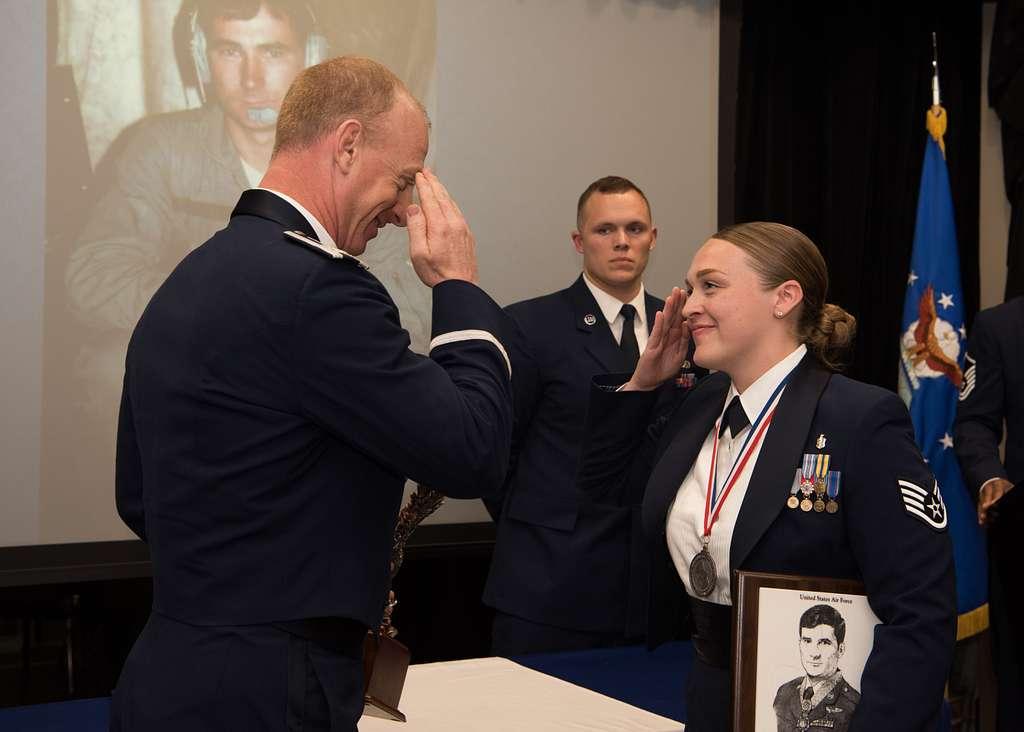Whiteman Airman Leadership School Class 19-F graduates