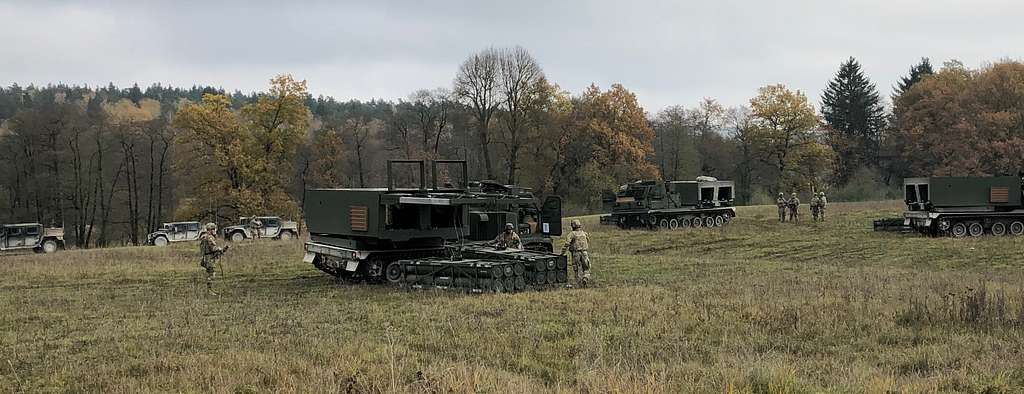 The 1-6 Field Artillery Battalion conducts dry fire