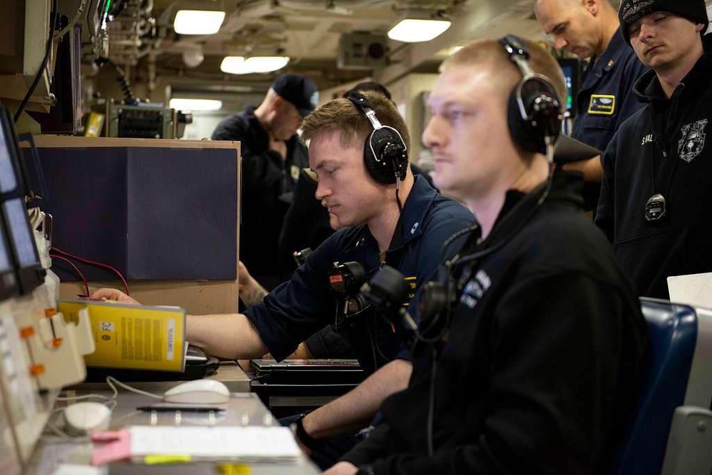 PACIFIC OCEAN (February 2020) Lt. Bryan Glock, Weapons