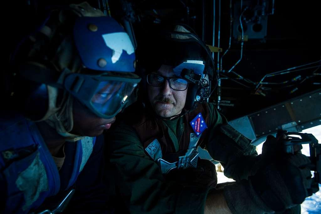 PHILIPPINE SEA (March 22, 2020) Gunnery Sgt. Dustin