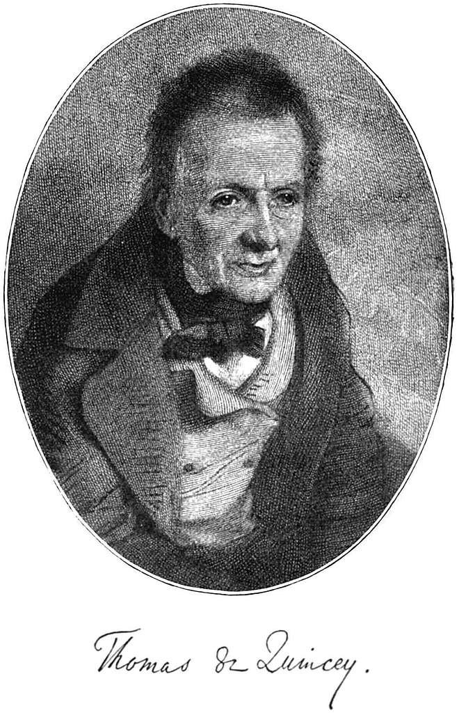 Thomas de Quincey - Project Gutenberg eText 16026