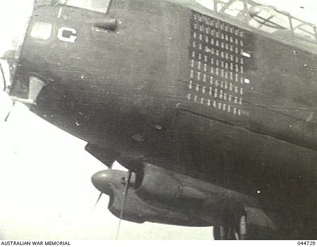 G for George nose art AWM 044729