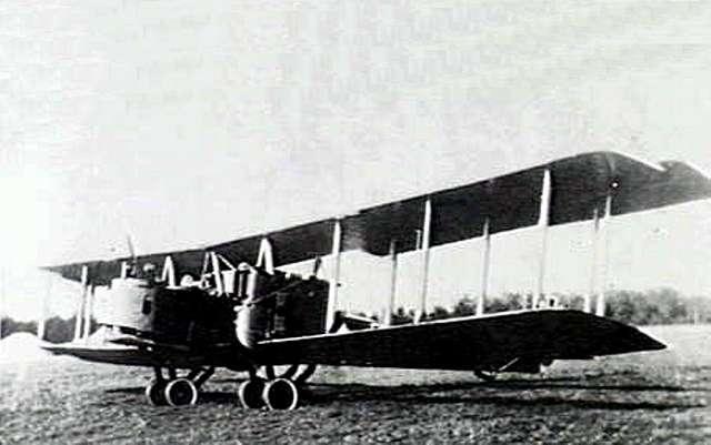 German Gotha G.III bomber c1918