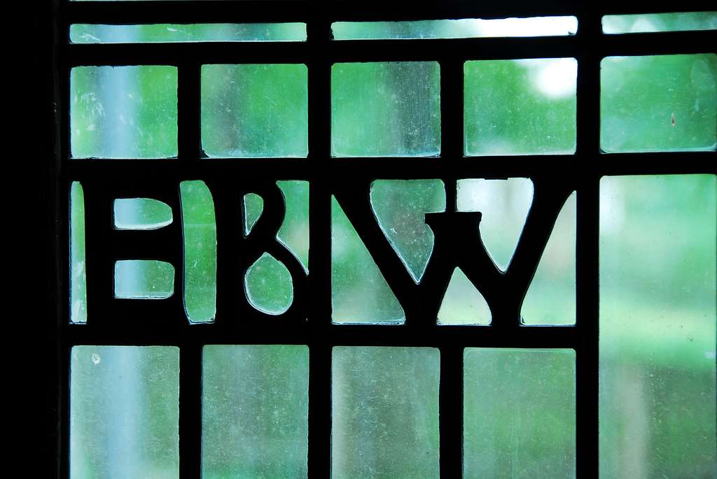 Living Room Window Initials