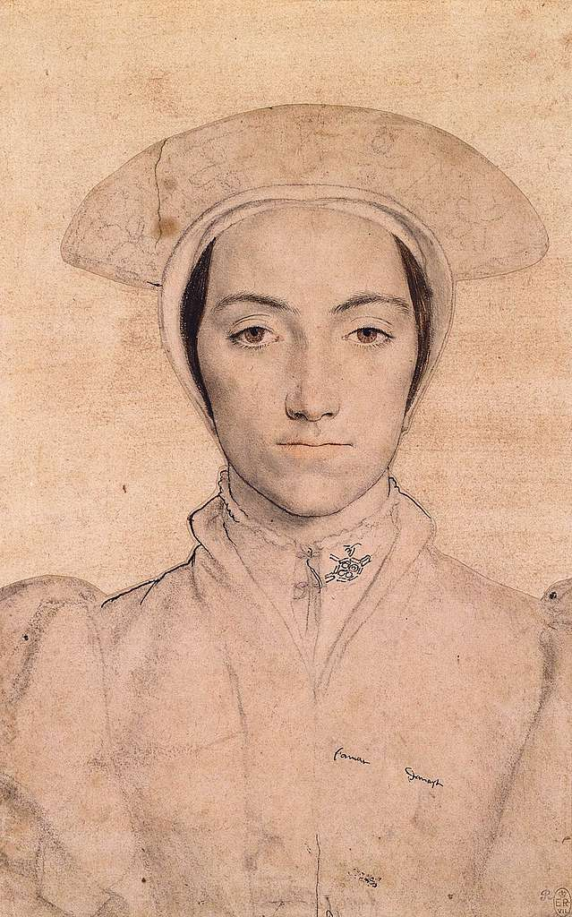 An unidentified woman by Hans Holbein the Younger