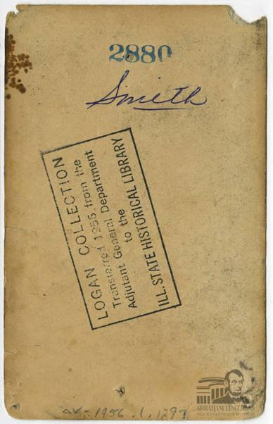 G. D. Smith (ALP BIB 3153)