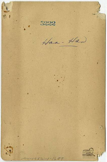 Ira W. Hand (ALP BIB 3000)