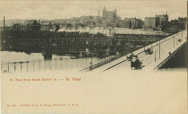 St. Paul from South Robert St. -- St. Paul (NBY 423156)