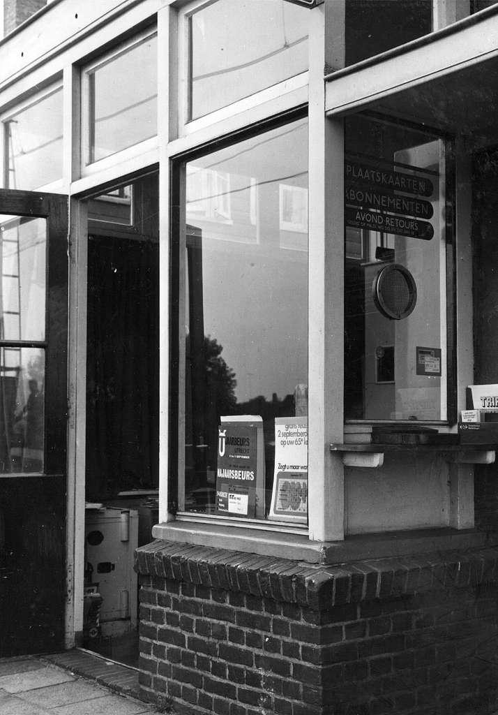 HUA-152495-Afbeelding van het loket van het NS station Hollandsche rading te Hollandsche Rading
