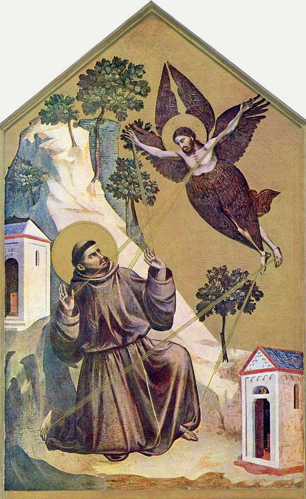 Giotto - estigmatização de são francisco