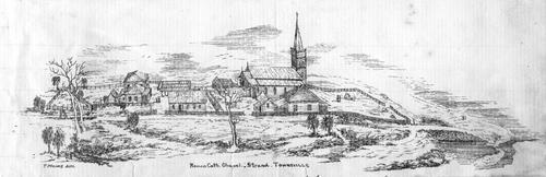 Church of St Joseph on the Strand Townsville circa 1878