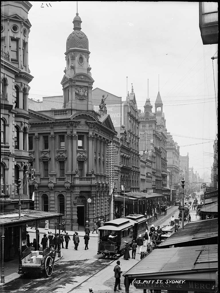 Pitt St, Sydney from The Powerhouse Museum Collection