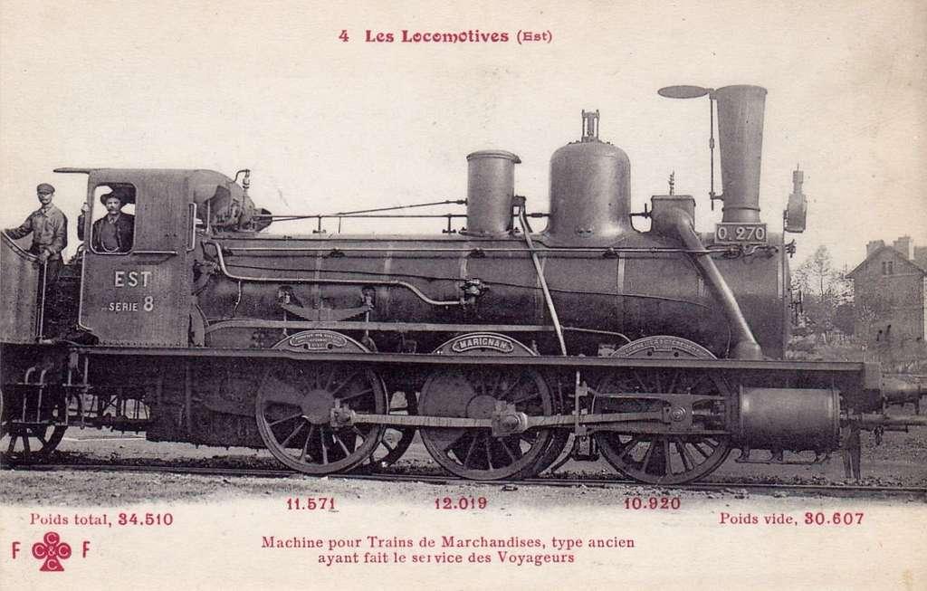 FF-CCCC 4 - Les Locomotives (Est) - Machine No 0270