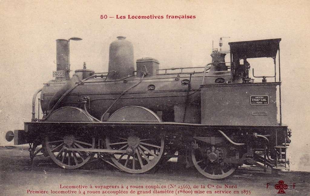 FF-CCCC 50 - Les Locomotives francaises - Nord 2.566