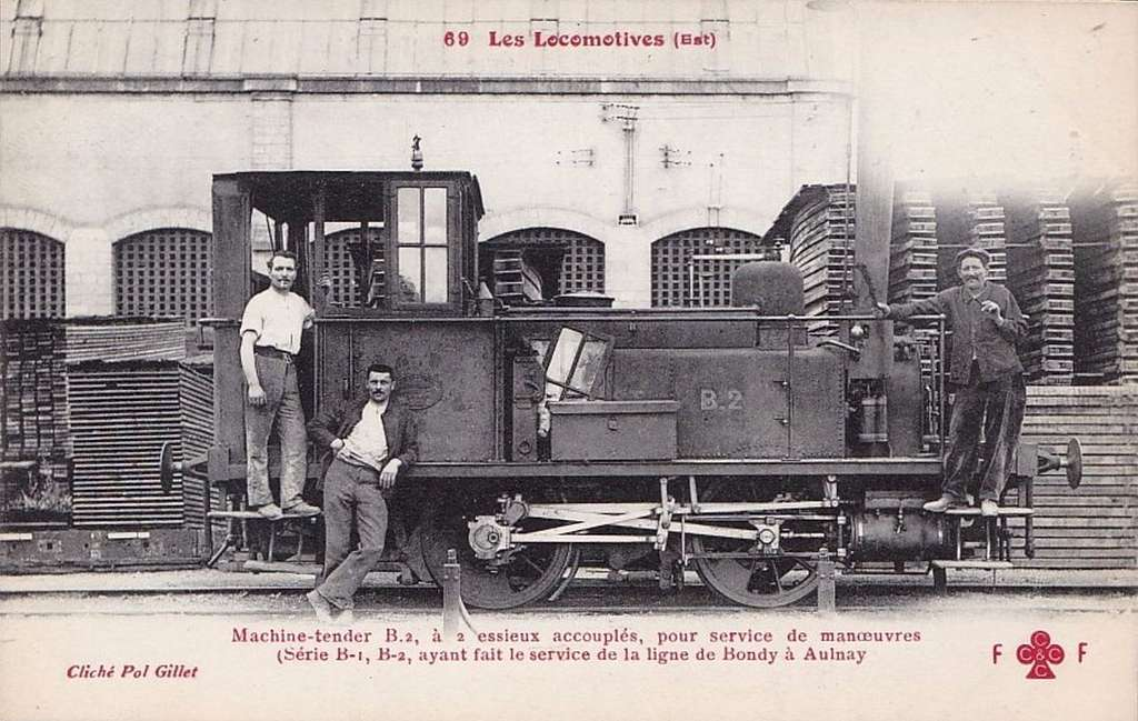 FF-CCCC 69 - Les Locomotives (Est) - Machine-tender B.2