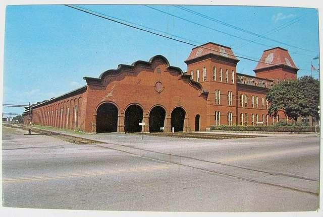 St. Albans station 1960s postcard