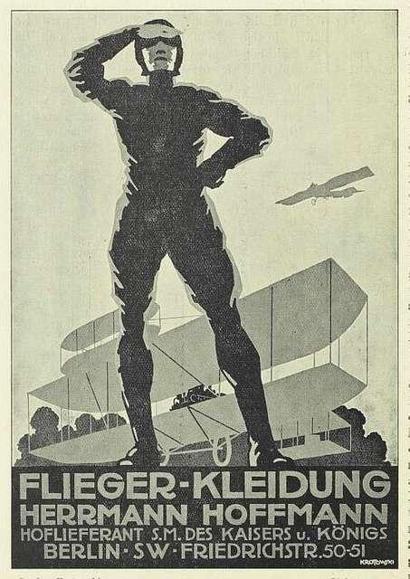 Stephan Krotowski - Flieger-Kleidung - Herrmann Hoffmann