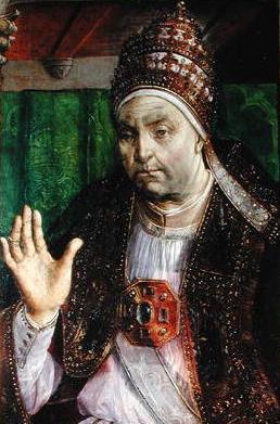 Pope Sixtus IV (head)