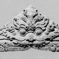 Antefix with a Mythical Kala Face