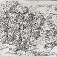 Landscape with Two Seated Figures