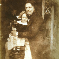 David Octavius Hill with his daughter, Charlotte