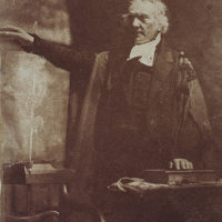 Rev. Thomas Chalmers, 1780 - 1847. Preacher and social reformer (shown preaching)