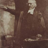 Rev. Thomas Chalmers, 1780 - 1847. Preacher and social reformer (shown preaching)