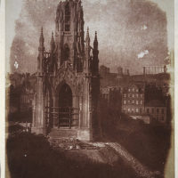 The Scott Monument under Construction