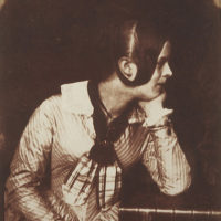 Charlotte Lockhart, later Mrs Hope. Grand-daughter of Sir Walter Scott