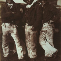 Alexander Rutherford, William Ramsay and John Liston
