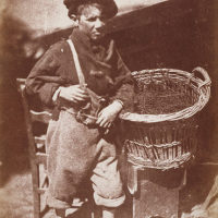 Newhaven boy ('King Fisher' or 'His Faither's Breeks')