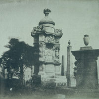 Monument in Glasgow Necropolis to John Henry Alexander, d. 1851, sculpted by Alexander Handyside Ritchie