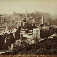 Old Town Edinburgh from the Calton Hill