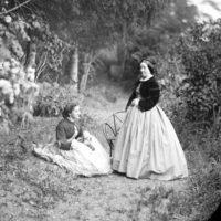 Caroline et sa mère, Cornusson, 1884