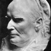 President William McKinley's death mask