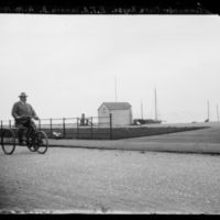 'Commander Clare Royse On Tricycle', 1901 - 10