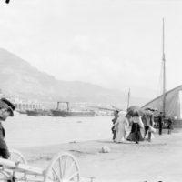 Sur le port, Monaco, avril 1905
